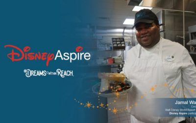 Dreams Within Reach: Disney's Contemporary Resort Cook Strives for Dream Career Through Disney Aspire