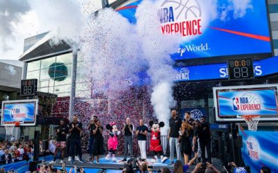 Disney Parks Blog Weekly Recap – Grand Opening of NBA Experience, Bird's-Eye View of Star Wars: Galaxy's Edge and More…